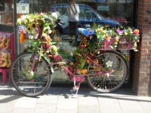 Amsterdam - Bici fiorita