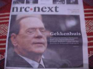 Berlusconi - quotidiano olandese