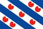 la, curiosa, bandiera della Frisia