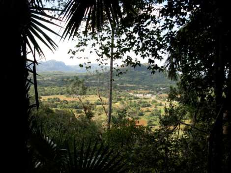 vista sulla valle, Viñales