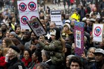 protesta anti Zwarte Piet